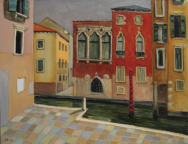 Венеция. х.м., 80х60 см., 2010 г.